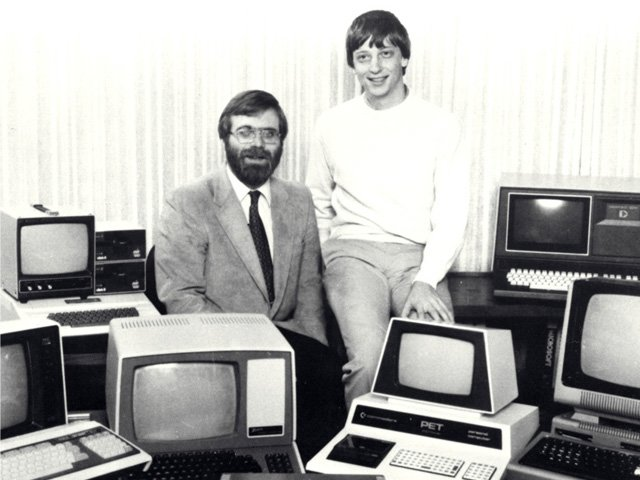 Bill Gates und Paul Allen