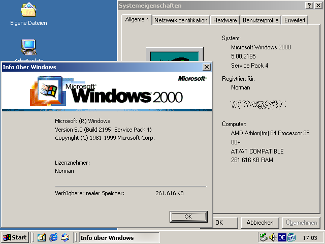 Alles über Windows 2000