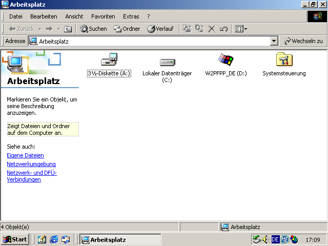 Windows 2000 Explorer